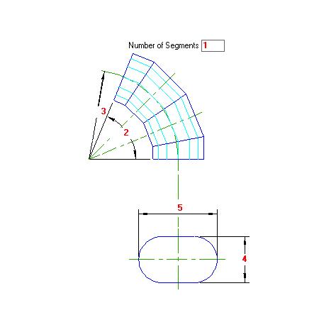 79 Planificacao Curva de Gomos Oval Horizontal traçado caldeiraria