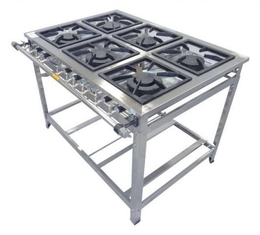 Projeto Solicitado – Fabricação nas normas brasileiras de fogão industrial  |Finaliza Dia 31 jul 18|