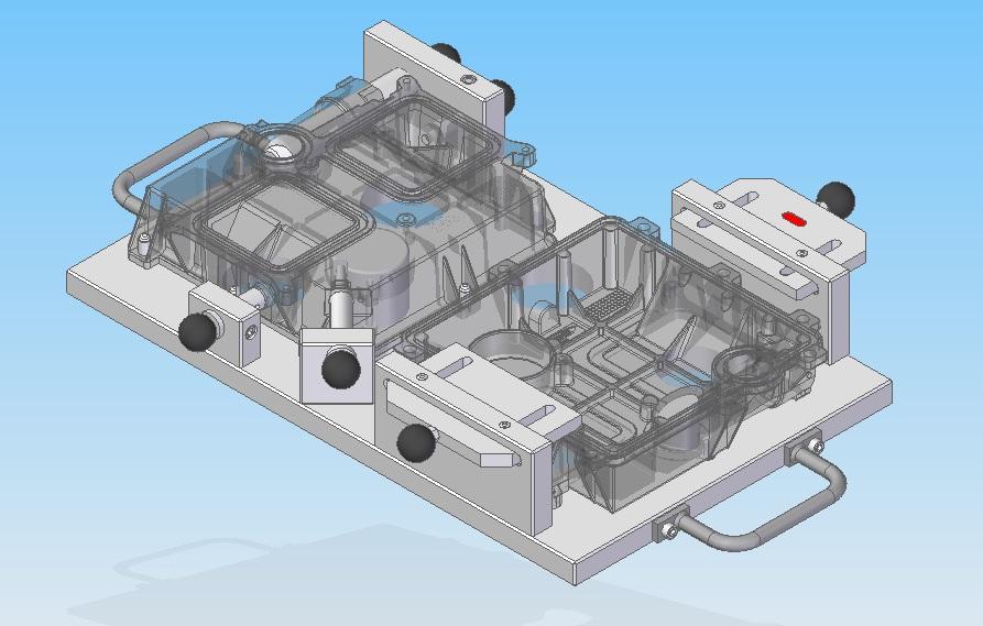 Projetos FP: Dispositivo para controle de posição de furos e obstrução de galerias