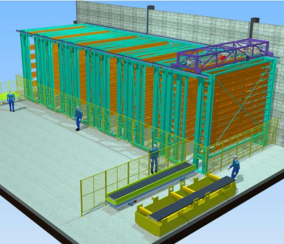Projetos FP: Sistema de armazenamento automático para barras e tubos