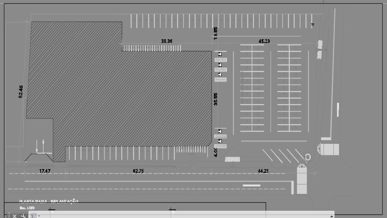 Projeto Solicitado [12 de December de 2016] – Projeto de estrutura metálica para cobertura de estacionamento em Rio Branco / AC