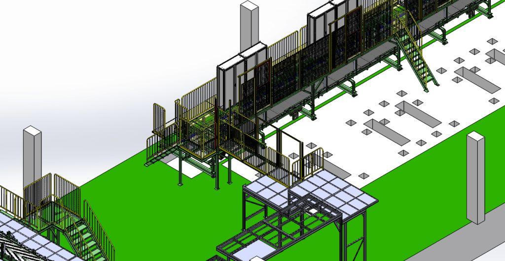 Projetos FP: Unit Line 1 & 2 Conveyor's