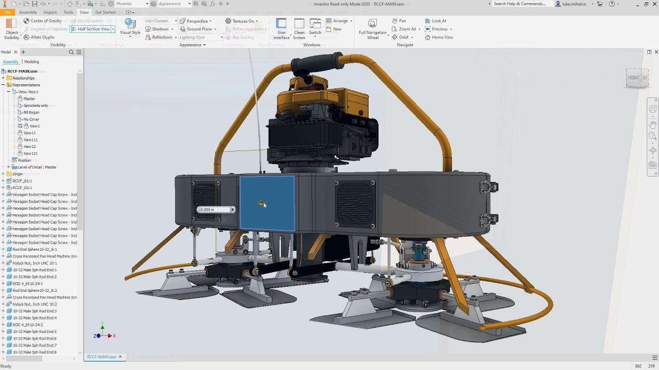 Novidades Autodesk Inventor 2020
