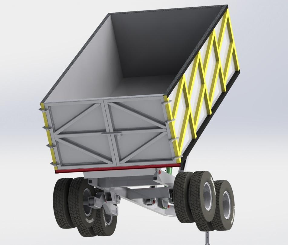 Projetos FP: Carreta Basculante 10 m3
