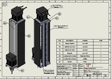 Projetos FP: Projeto Completo 2D e 3D Router CNC 3 eixos (Mini Fresadora CNC)