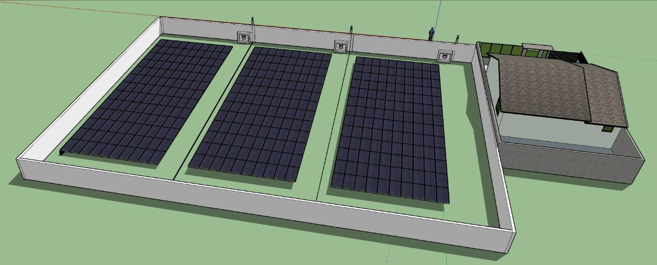 Projeto Solicitado – Suporte com cabos de aço para painéis solares  |Finaliza Dia 28 ago 19|