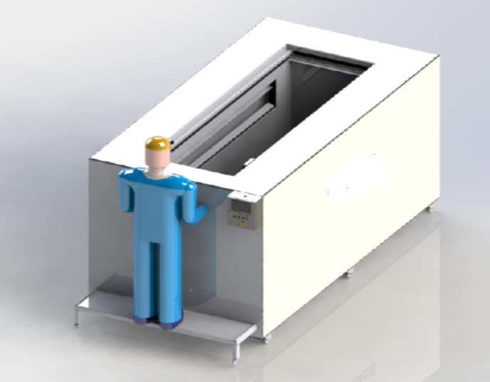 Projetos FP: Estufa para secagem de peças processadas