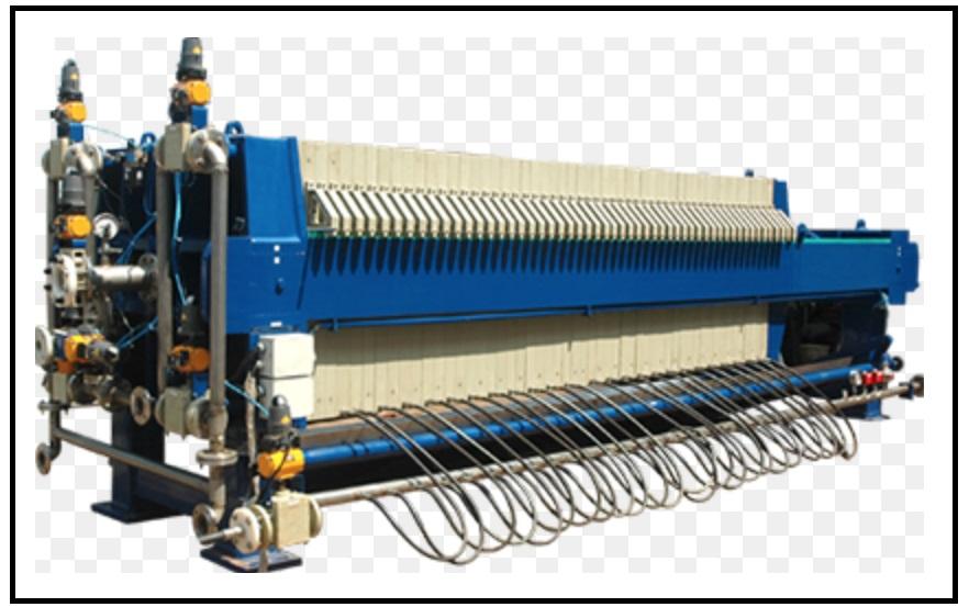 Projeto Solicitado – Filtro prensa horizontal com capacidade de filtragem de cerca de 200 T/h |Finaliza Dia 28/06/2020|