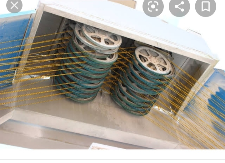 Projetos FP: Máquina de corte para Mármore e Granito Multi-fios