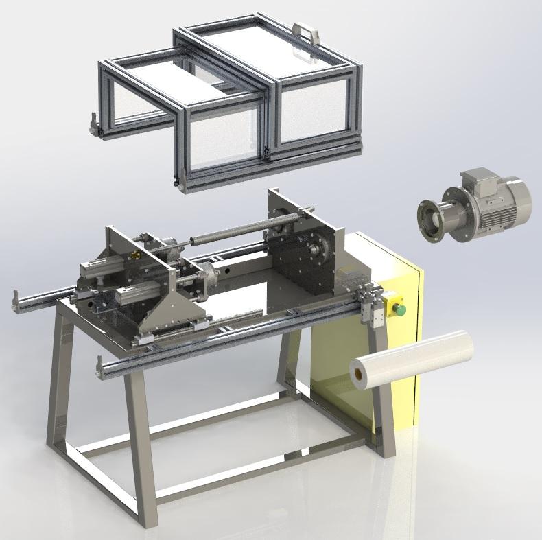 Projetos FP: Rebobinadeira de filme plástico ou alumínio