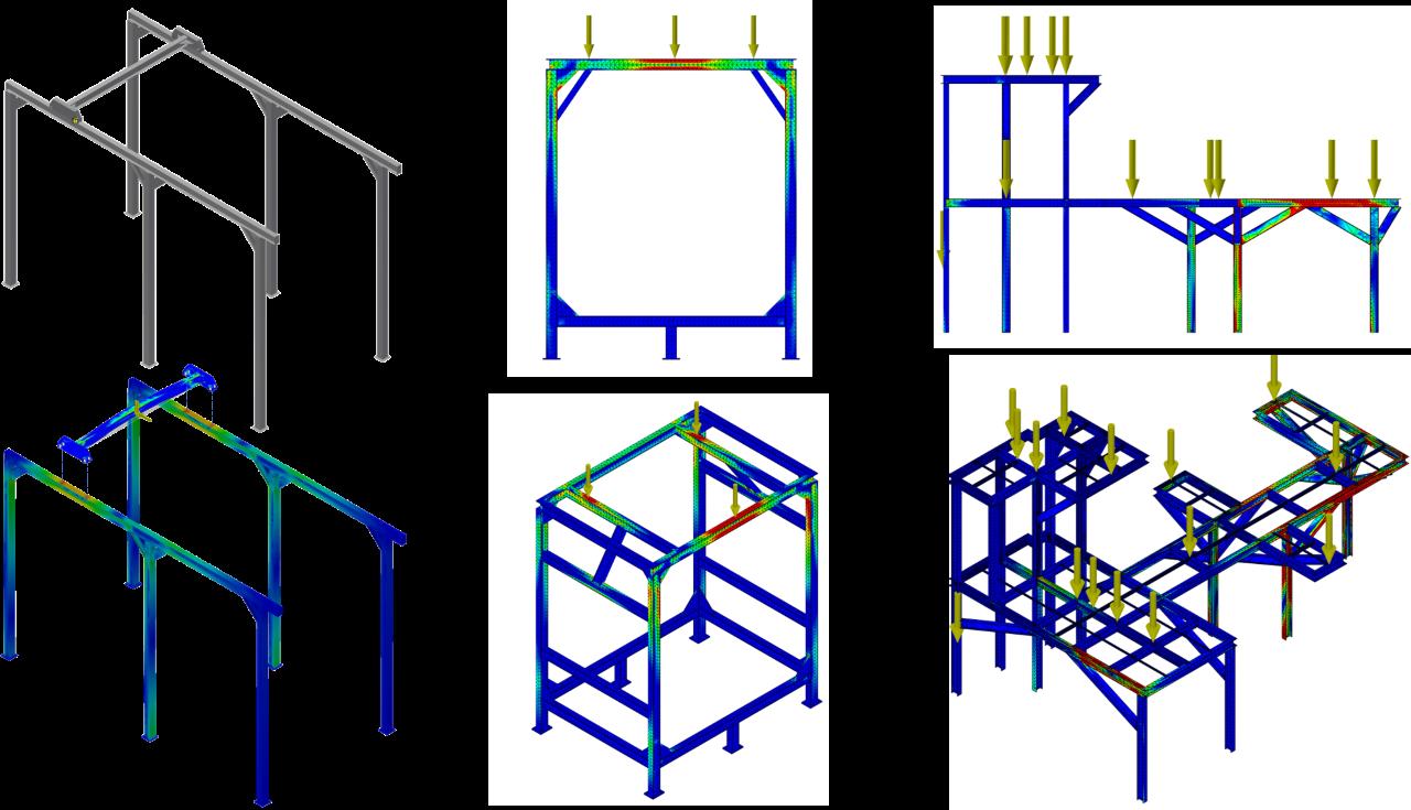 Projetos FP: Análise de esforços pelo método de Elementos Finitos – FEA