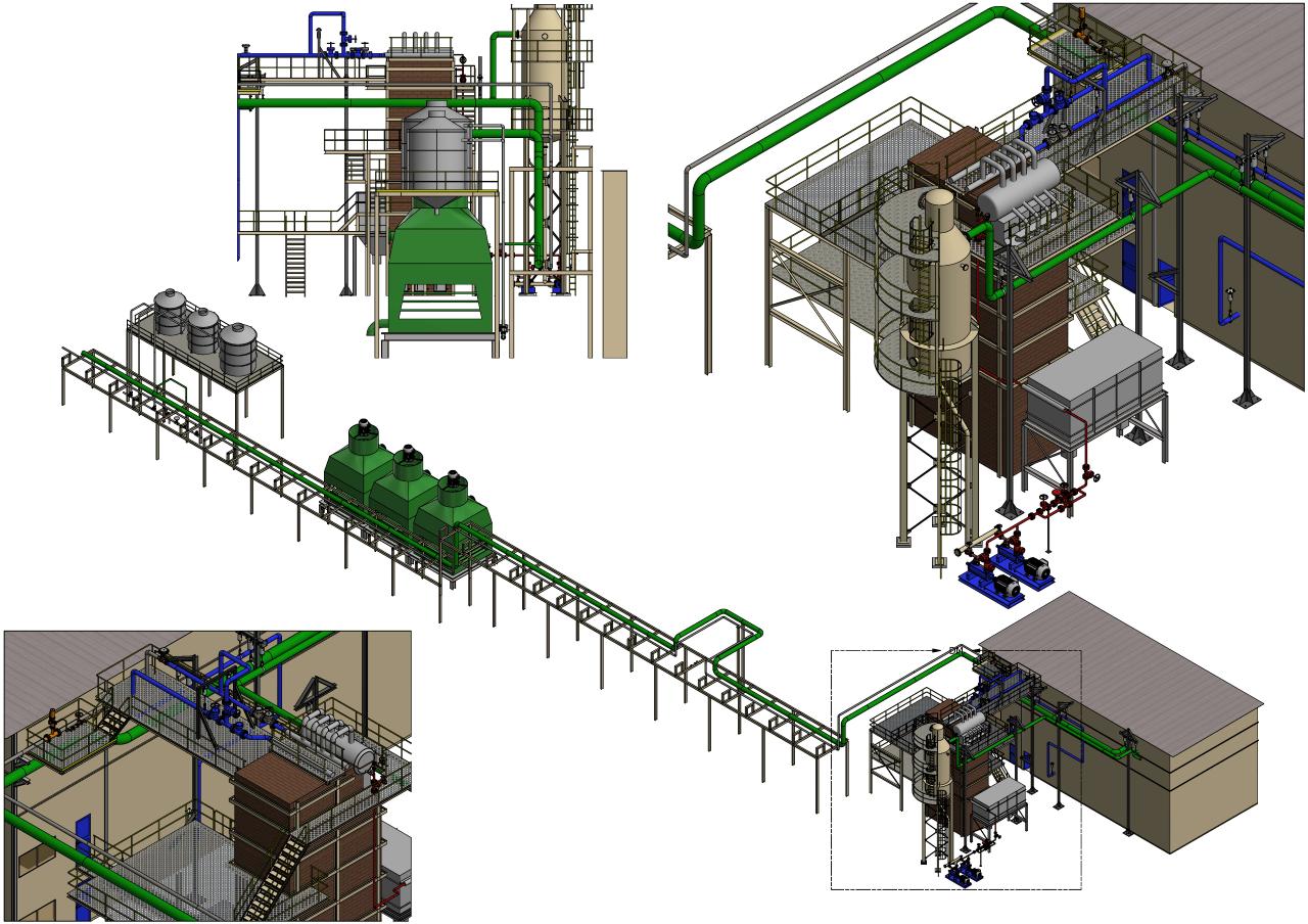 Projetos FP: Projeto, dimensionamento e modelagem 3D de equipamentos industriais