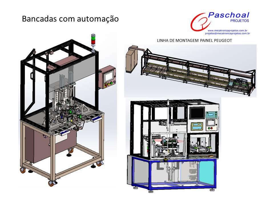 Projetos FP: Projetos mecatrônicos & Automação