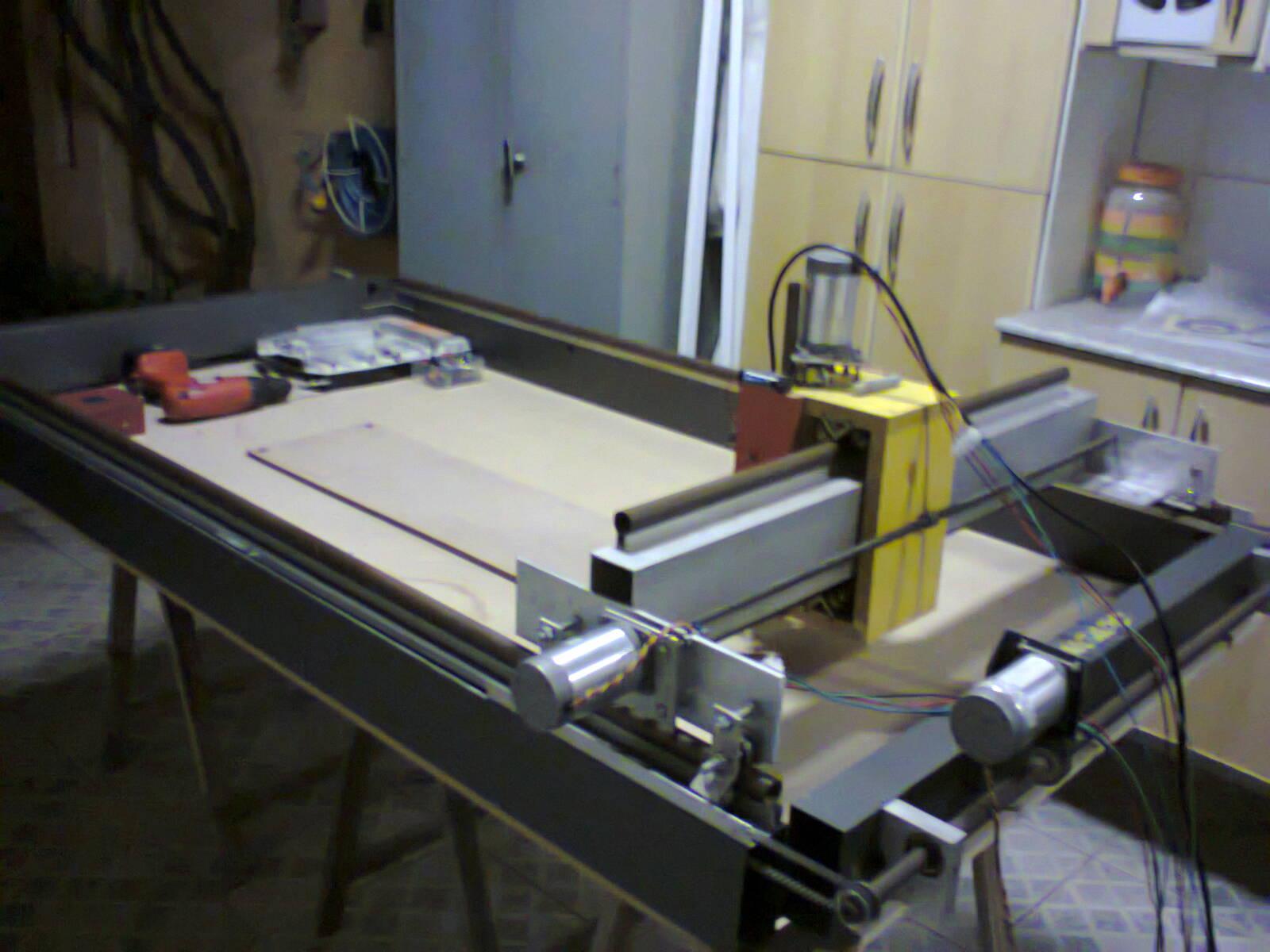 Projetos FP: Mesa de corte madeira com controle CNC