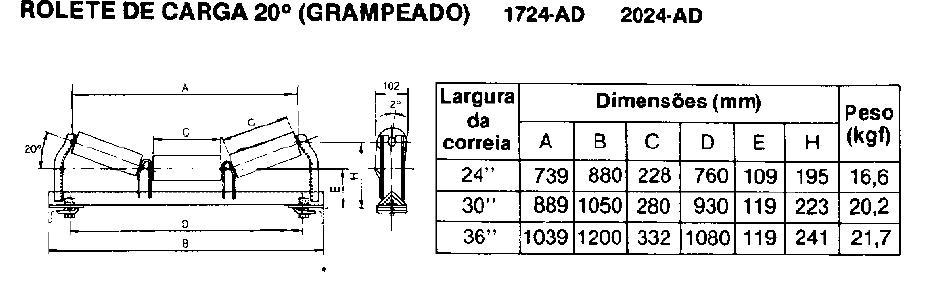 Projeto Solicitado [10 de junho de 2013] – Rotina LISP – Perfil de Transportadora de Correia
