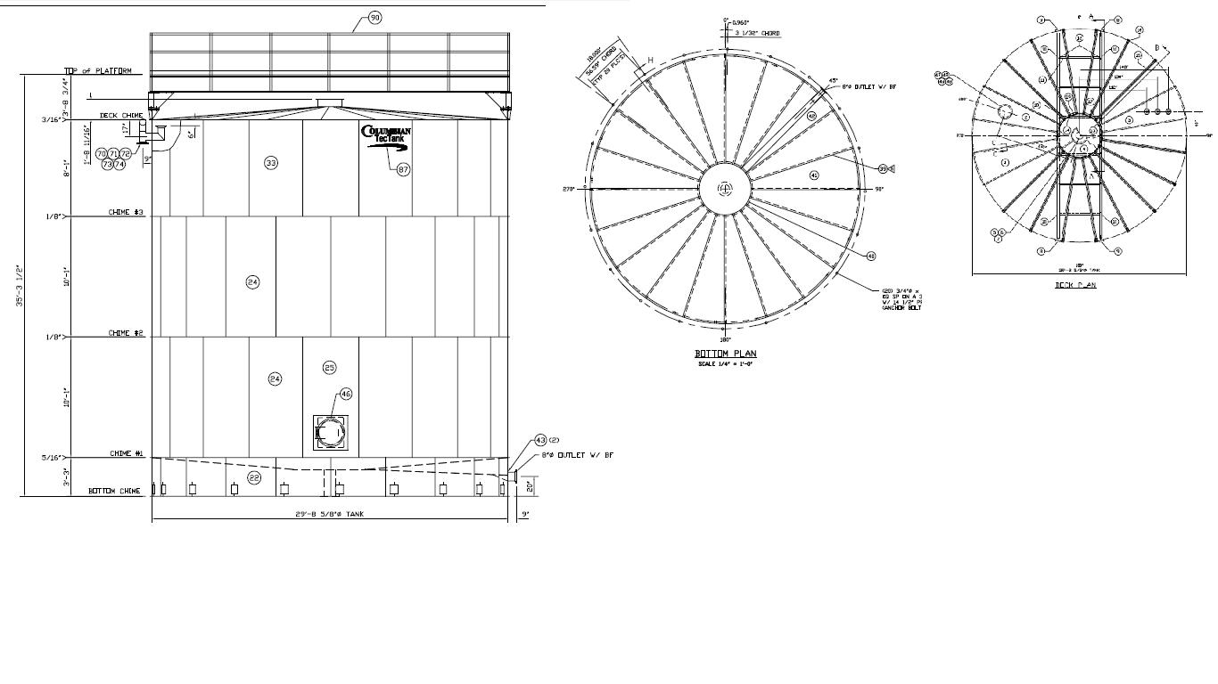 Projeto Solicitado [4 de setembro de 2013] – Tanque de Atmosférico API 650